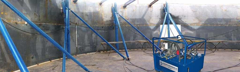 Steel Tank construction for various storage purposes