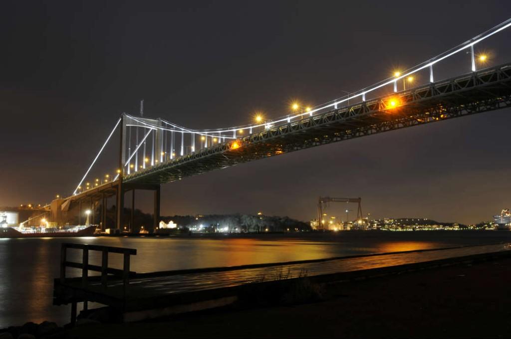 Bridge Pylons - Älvsborgsbron, Gothenburg