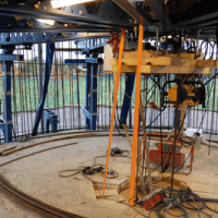 Equipment for Conical Slipform Construction