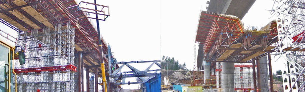 Machines for lifting heavy concrete mold