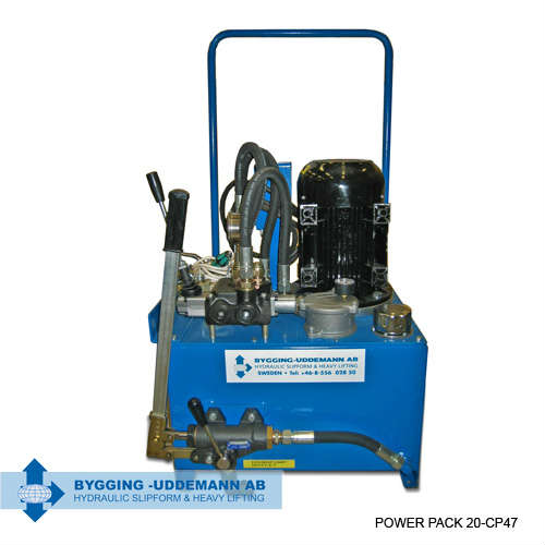 Hydraulic high pressure pump unit 20-CP47