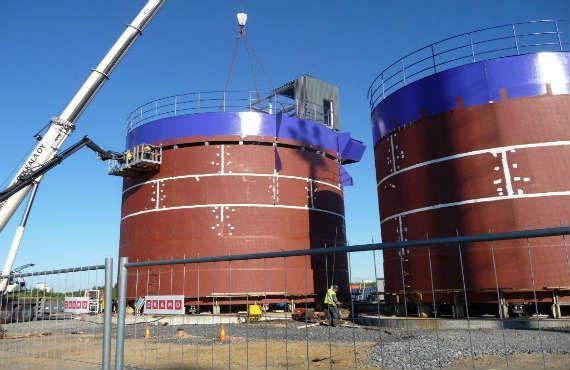 Steel Tank Construction