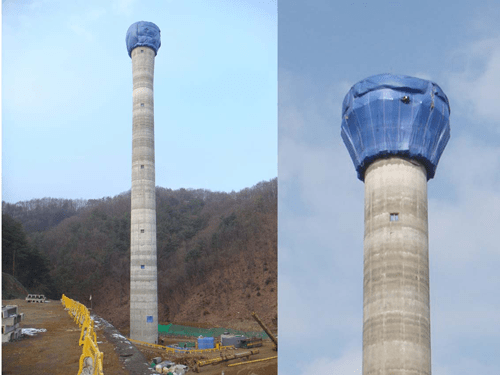 Chimney - Chuncheon, Korea - bygging uddemann