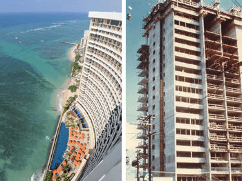 High Rise Building, Sheraton Hotel - Honolulu - bygging uddemann