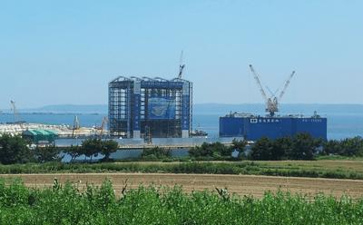 Caisson Gantry System, sect 2 - Pohang, Korea - bygging uddemann