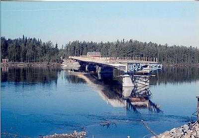 Bridge Launching - Böle, Sweden - bygging uddemann