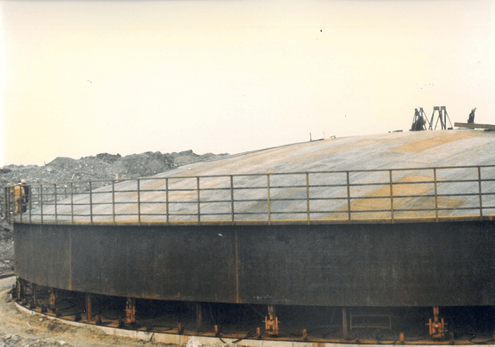 Oil Tank - Denmark - bygging uddemann