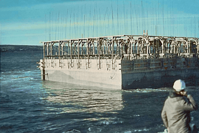 Caissons for Harbour - Halifax, Canada - bygging uddemann