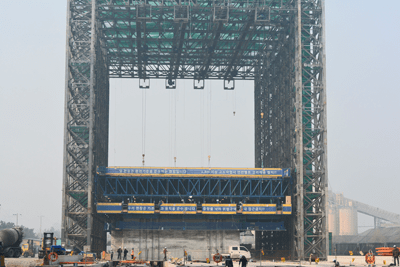 Gantry System for Passanger Port - Incheon, Korea - bygging uddemann