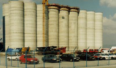 Grain Silo - Cypern - bygging uddemann