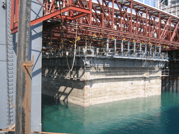 Gantry Slipform System for Caissons -Spain - bygging uddemann