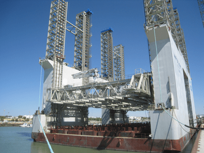 Gantry Slipform System for Caissons - Spain - bygging uddemann