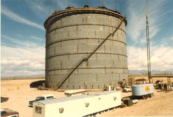 Liquid Gas Tank - England - bygging uddemann