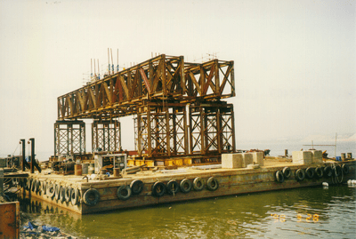 Caisson System for Harbour - Dong Ah, Korea - bygging uddemann