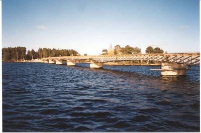 Bridge Launching - Hedesunda, Sweden