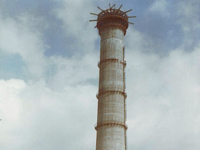 Chimney - Iskenderum, Turkey - bygging uddemann