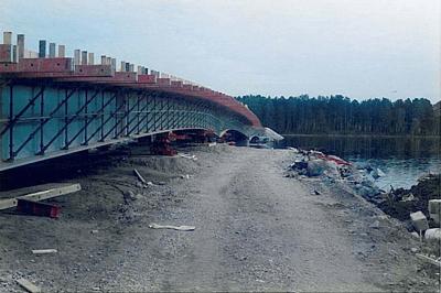 Bridge Launching - Långan, Sweden