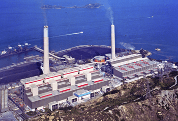 Power Station Castle Peak - Hongkong, D.R.Chin - bygging uddemann