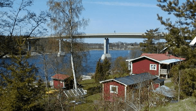 Bridge Launching - Trästabron, Sweden - bygging uddemann