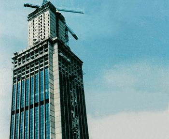 High Rise Building, LOT-air Terminal - Warzaw, Poland