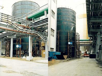 Steel Tank - Portugal - bygging uddemann