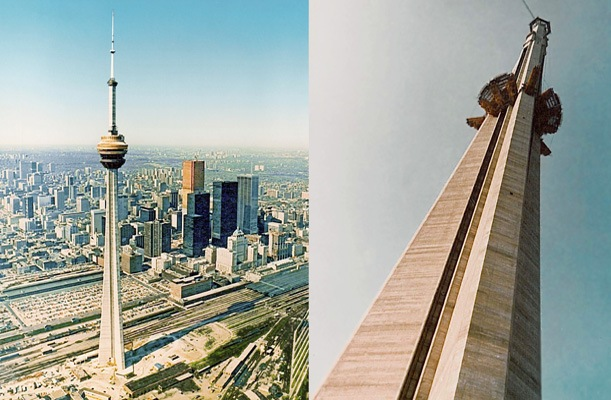 CN Tower - Toronto, Canada - bygging uddemann