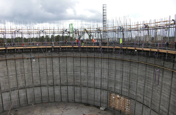 LNG tank - Nynäshamn, Sweden - bygging uddemann