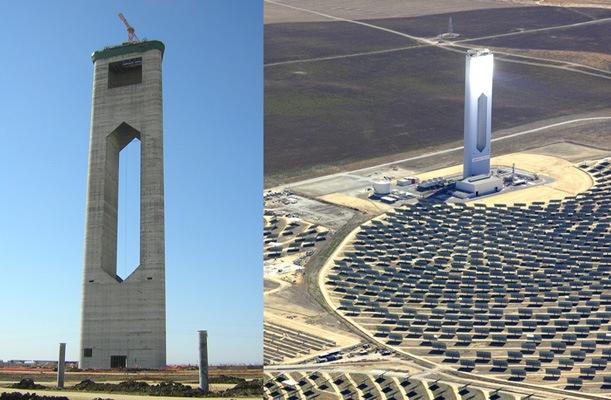 Solar Tower - Seville, Spain - bygging uddemann