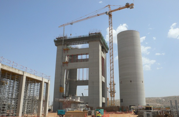 Silo and Preheater Tower - Agadir, Morocco - bygging uddemann