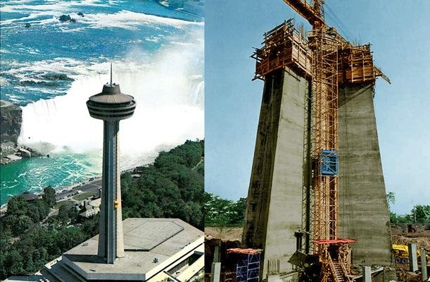 Skylon Tower Niagara falls - Ontario, Canada - bygging uddemann