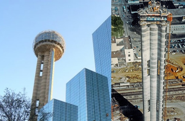 Reunion Tower - Dallas, US. - bygging uddemann
