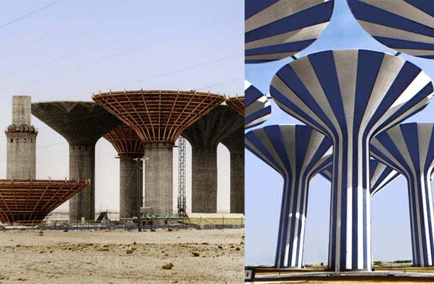 Water Towers - Kuwait - bygging uddemann