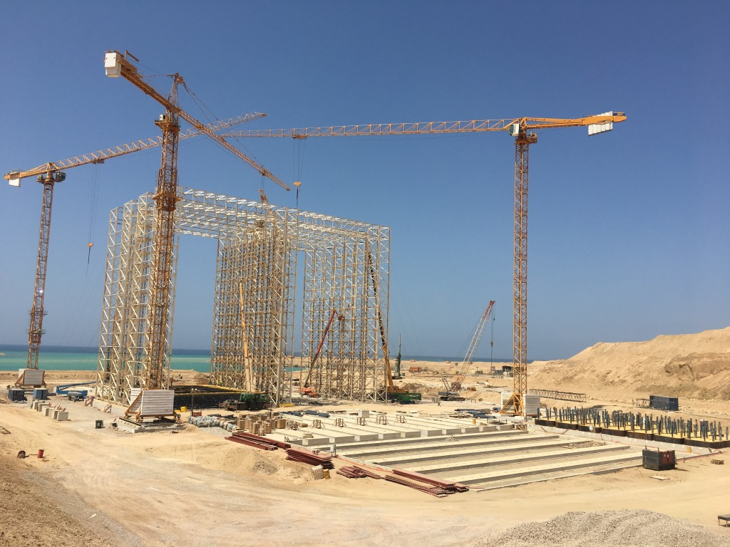 Nador West Med Caisson Project, Morocco