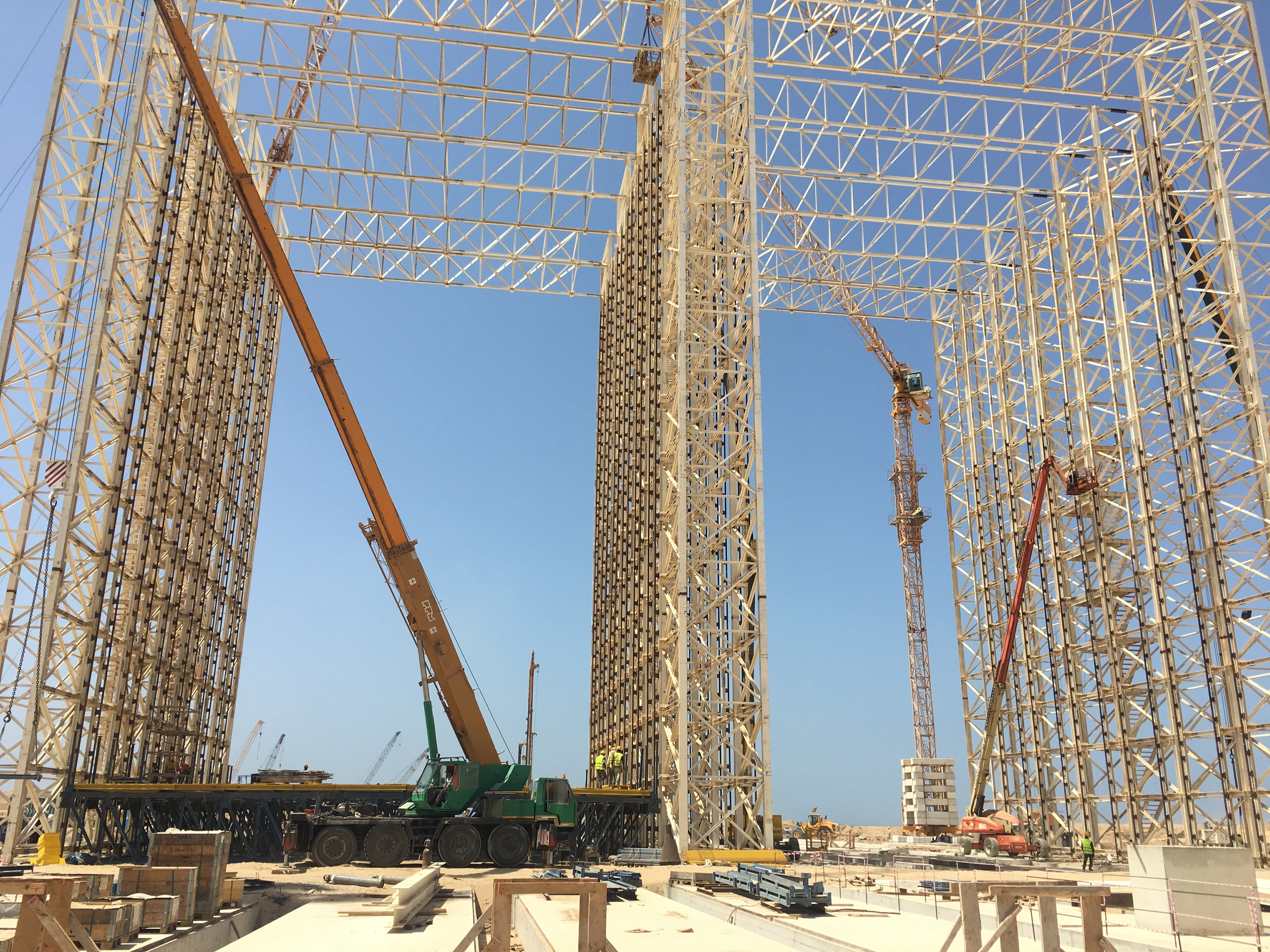 Nador West Med Caisson Project, Morocco - bygging uddemann
