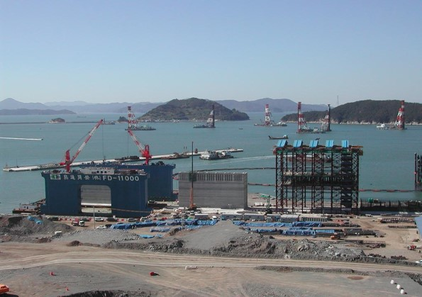 Pusan New Port Extension 2-1, Korea