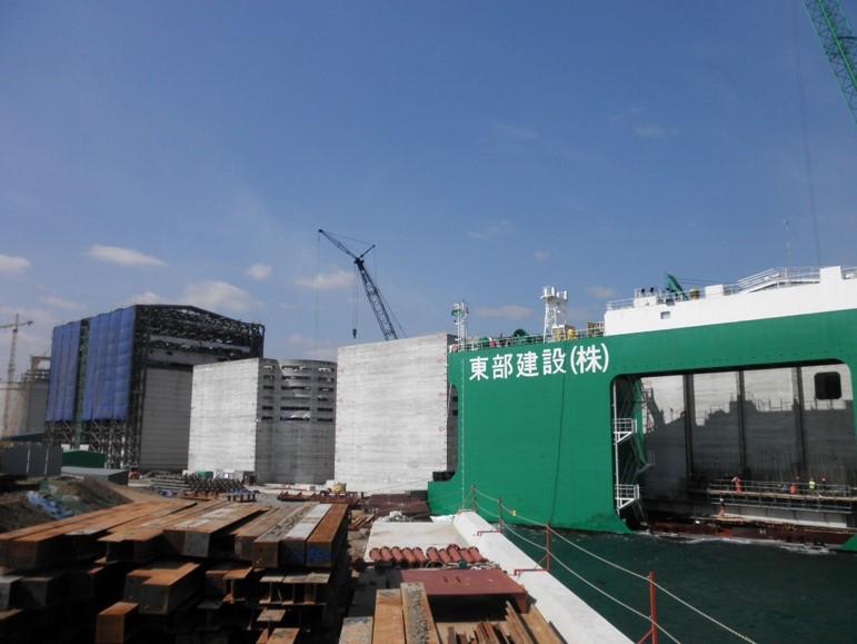 Samchuk LNG Production Base, Korea - bygging uddemann