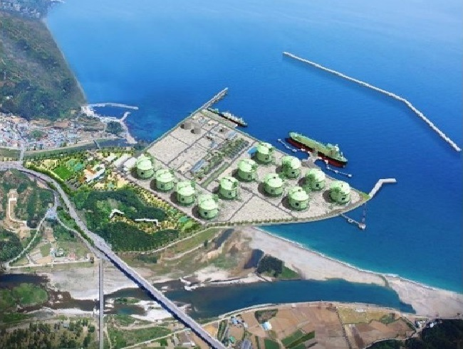 Samchuk LNG Production Base, Korea