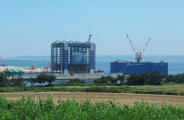 Pohang Young-il Bay Section 2, Korea - bygging uddemann